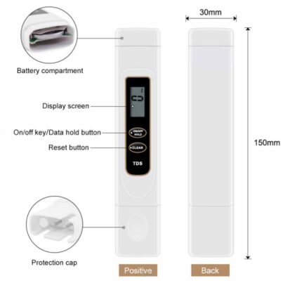 Digital TDS Meter (Water Hardness Tester)