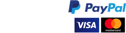 WorldPay and PayPal logos